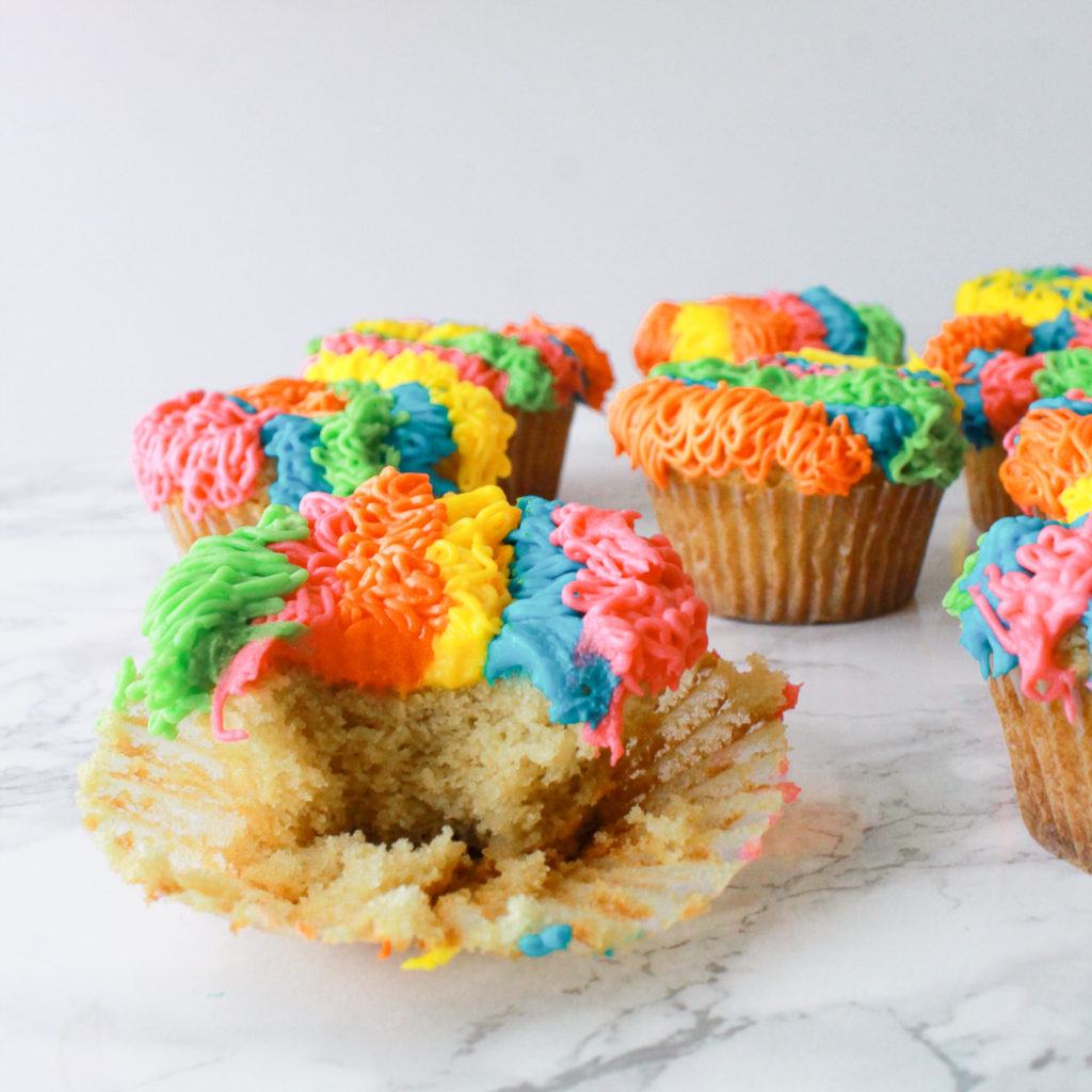 Cinco De Mayo Fiesta Dessert Cupcakes