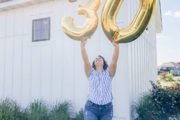 Is turning 30 a big deal? Well, it just happened to me and here are my thoughts, panics, and what I'm doing about it.